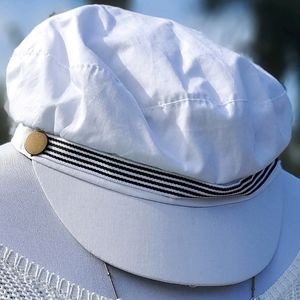 Jeanne Simmons accessories Nautical-News boy hat